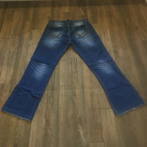 Original line William Rast mens bootcut jeans 33