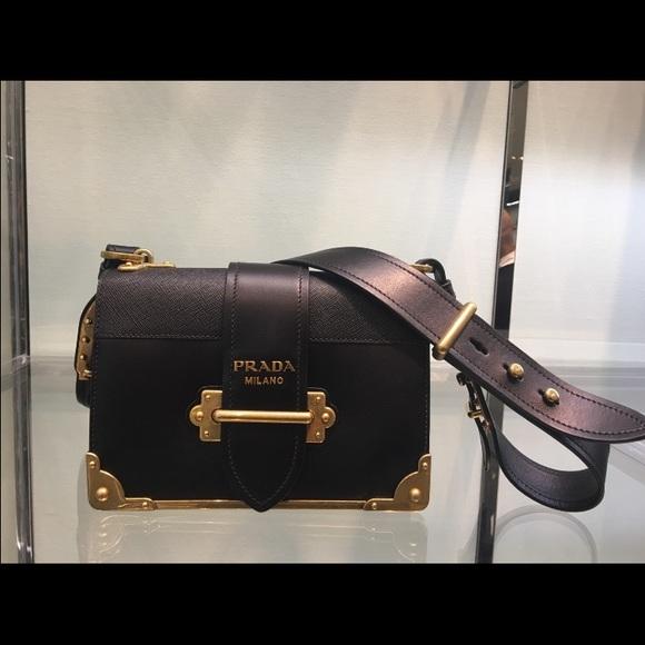 Prada Bags   Cahier Black   Poshmark 357efc852c