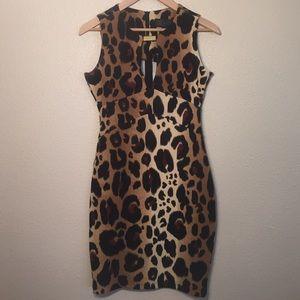 Kardashian Kollection Dresses & Skirts - Bold Leopard Print Kardashian Kollection Dress