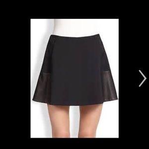 rag & bone Dresses & Skirts - NWT rag & bone  Leather cotton skirt