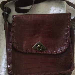 Handbags - All leather 70s style bag