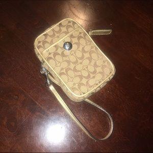 Coach Handbags - COACH Camera/Phone Wristlet