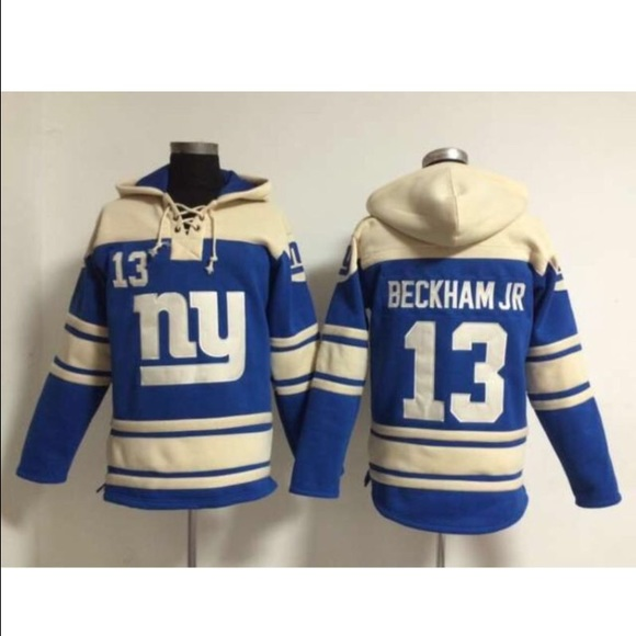 size 40 a2d92 0cd69 Odell Beckham Jr Giants NFL Jersey laced hoodie