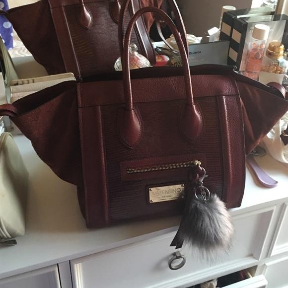 aeaaa5d05bc Valentino Bags   Handbag Burgundy Authentic   Poshmark