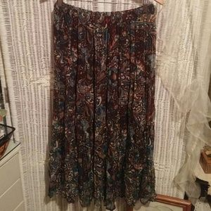 Made in India Maxi Skirt