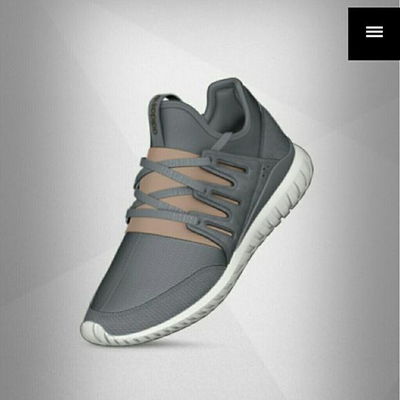 Customized Adidas MI TUBULAR RADIAL Running Shoes