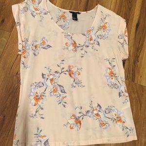 H&M Floral blouse. Size 6