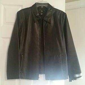 Jackets & Blazers - GENUINE LEATHER JACKET.
