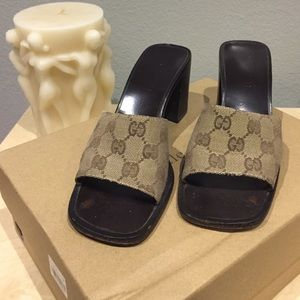 Gucci heels 100%authentic