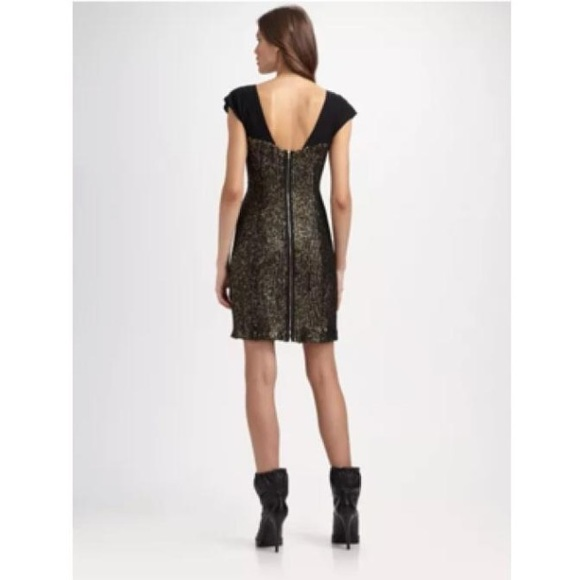 69% off Tory Burch Dresses & Skirts - Tory Burch Black and Gold ...