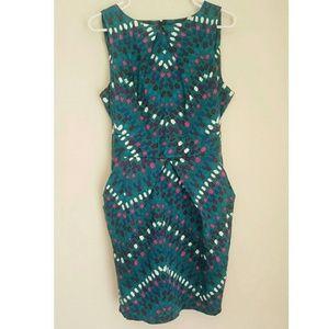 Closet Dresses & Skirts - 👗VINTAGE💙Turquoise Dress W/POCKETS👗