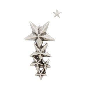 Pamela Love Silver Stardust Ear Climber Earring