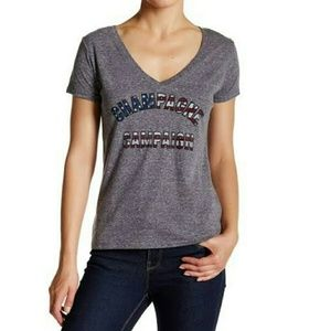 Signorelli Tops - CHAMPAGNE CAMPAIGN GRAY TEE SHIRT