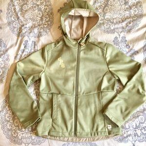 686 Apparel green snowboard jacket