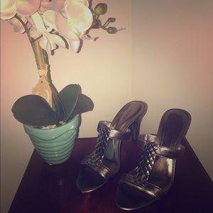 Alfani Shoes - 👰Wedding Season is Coming! Sexy gunmetal sandals