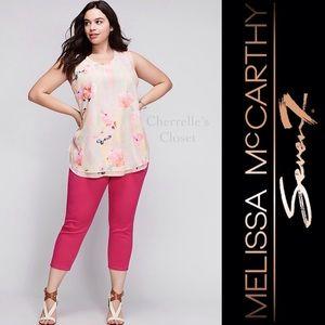 Melissa McCarthy Pants - Lane Bryant Melissa McCarthy Capri SEVEN Plus Size