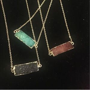 Choose one of 3 Amazing Druze Bar Necklaces, NWT