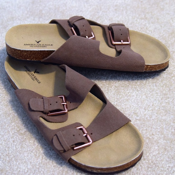 b63e3fea763c American Eagle Outfitters Shoes - Knock-Off Birkenstocks
