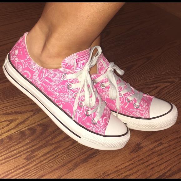 fec3d335e2d8 Converse Shoes - Jazzy Hot Pink Converse Women s 7 7.5 🎀