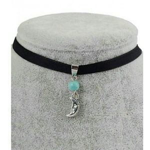 Jewelry - LAST ONE!! Leather Moon Choker