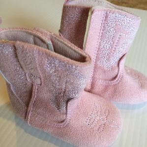 Other - Rising Star pink baby boots.
