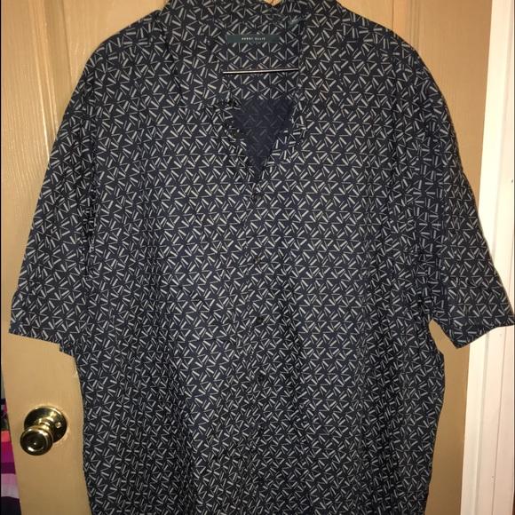 Salemens big and tall button up shirt poshmark for Big and tall button up shirts