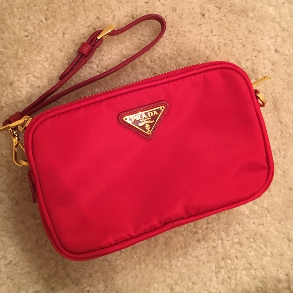 Prada Bags   Authentic Wristlet Crossbody Bag   Poshmark a0b8058e95