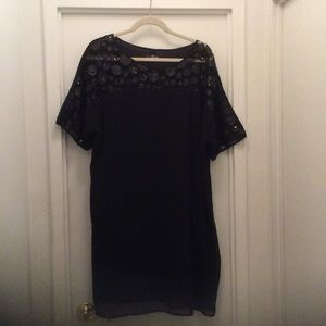 Lovedrobe Dresses & Skirts - Black Sequin Dot Dress