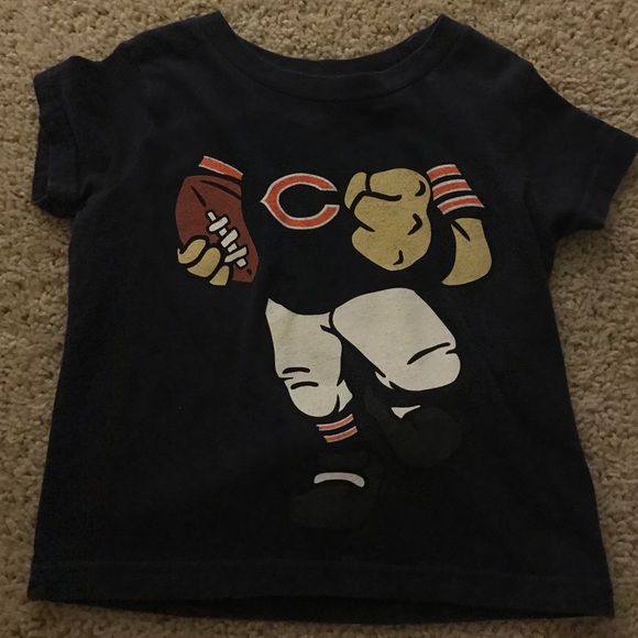 nfl Shirts \u0026 Tops | Kids Chicago Bears
