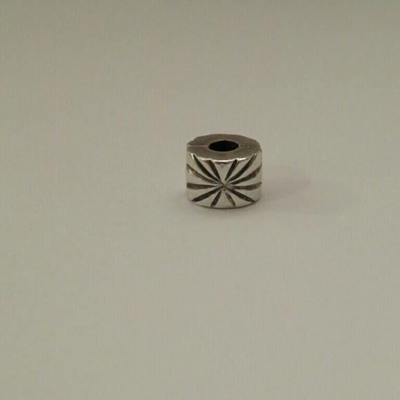 Pandora Clip On Earrings: Genuine Pandora Sterling Silver