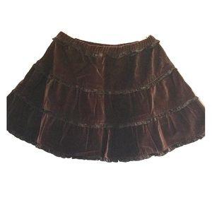 Baby CZ Other - Baby CZ Velveteen Skirt