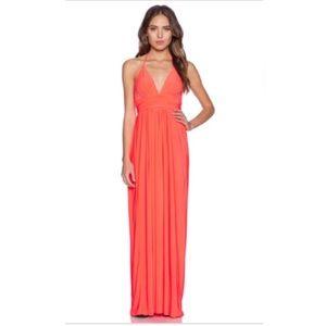 T-Bags Los Angeles Coral Maxi Dress!