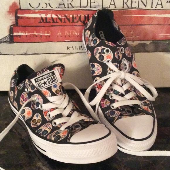 032b43c181ff Converse Shoes - New Sugar skull converse