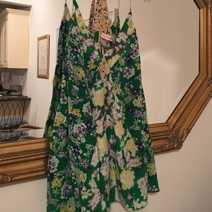 Rebecca Taylor Tops - REBECCA TAYLOR 100% Silk Floral designer cami