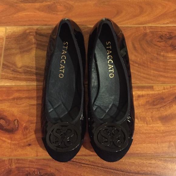 Staccato Black 12 Inch Heel Hippy 3