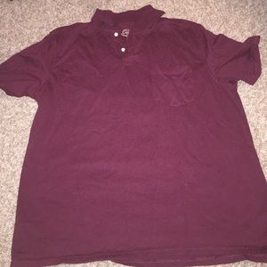St. John's Bay Other - Excellent Condition St John's Bay Maroon Shirt