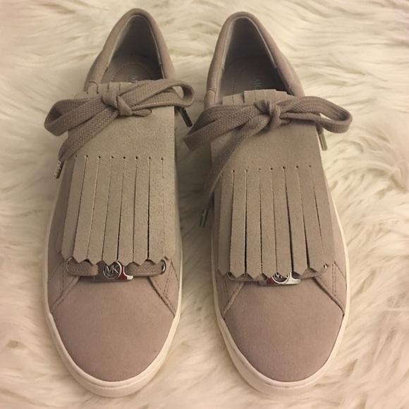 29e1ee868b1 New Michael Kors Keaton Kiltie Suede Sneaker. M 5808679699086aba61010976
