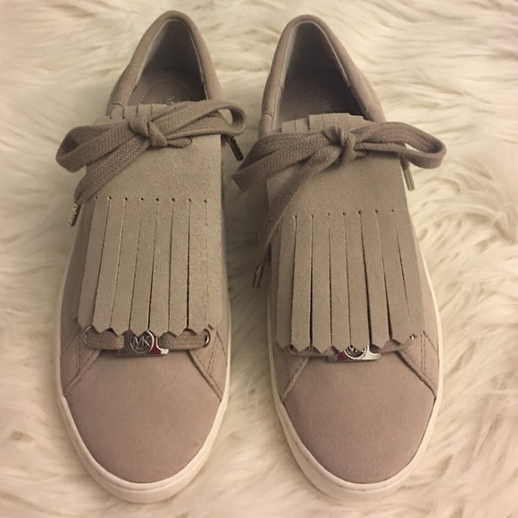 12fa61efb2b1 New Michael Kors Keaton Kiltie Suede Sneaker. M 5808679699086aba61010976