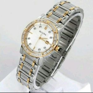 Bulova  Accessories - NWT $499 Bulova diamonds lades watch