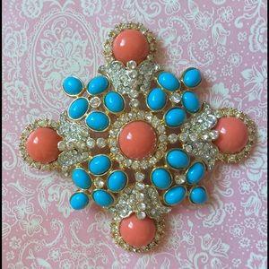 Kenneth Jay Lane Jewelry - Kenneth Jay Lane Pendant & Brooch Pin