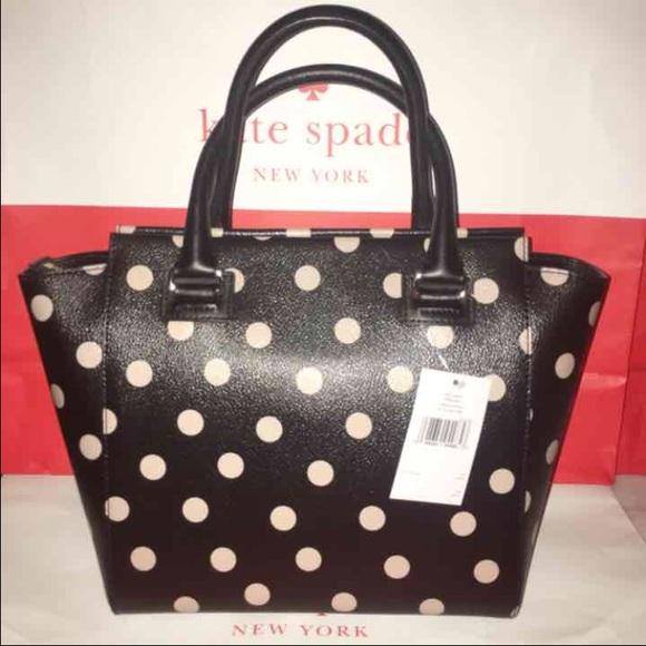 f396cf0c44729 Kate Spade Small Camryn Polka Dot Crossbody Bag. NWT