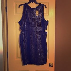 Forever 21 Dresses & Skirts - Plus size sparkly bodycon dress
