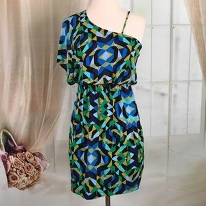 Sweet Storm Multi Colored Party Dress