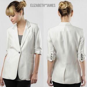 Elizabeth & James Triple Pocket Blazer Sugarcane