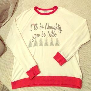 "Lauren Moshi Sweaters - Lauren Moshi ""You Be Naughty, I'll Be Nice"""