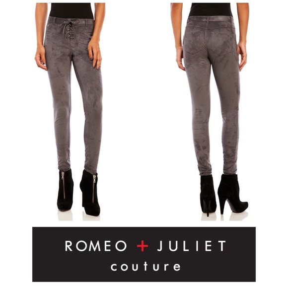 73% off Romeo & Juliet Couture Pants - Romeo + Juliet Couture Lace ...