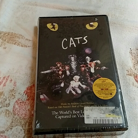 CATS The Musical VHS New and Sealed Make Offer NWT
