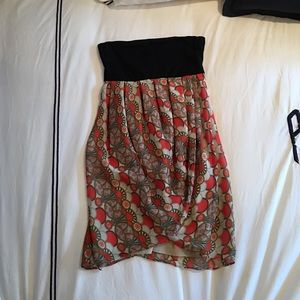 Alice + Olivia strapless dress size 0