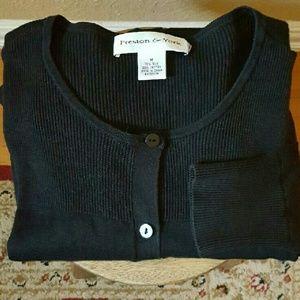 Preston & York Sweaters - Preston and York silk and cotton cardigan