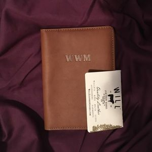 Will Leather Goods Other - WILL genuine leather passport case